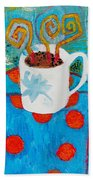 Coffee  By Janelle Dey Beach Sheet