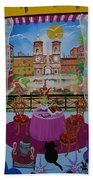 Mallorca, Spain, 2012 Acrylic On Canvas Beach Towel