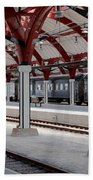 Malmo Train Station Beach Towel