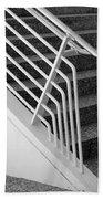 Mam Art Deco Stairs Beach Towel