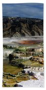 Mammoth Hot Springs Beach Towel