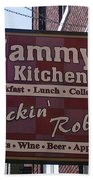 Mammy's Kitchen In Bardstown Kentucky Beach Towel