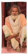 Man From India Beach Towel