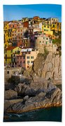 Manarola Beach Towel by Inge Johnsson