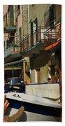 Manarola  Street - Cinque Terre Beach Towel