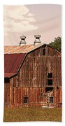 Mancos Colorado Barn Beach Towel