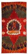 Mandala Naro Khechari Beach Towel