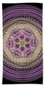 Mandala Of Wisdom Beach Towel