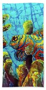 Mandarinfish  Beach Towel