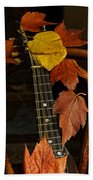 Mandolin Autumn 1 Beach Towel