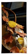 Mandolin Autumn 2 Beach Towel