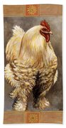 Mandy The Rooster Beach Towel