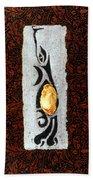 Mango Seed Tribe Beach Towel