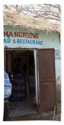 Mangrove Bar And Restaurant Beach Towel