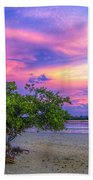 Mangrove By The Bay Beach Towel by Marvin Spates