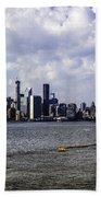 Manhattan On My Mind Beach Towel