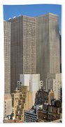 Manhattan Urban Jungle Beach Towel