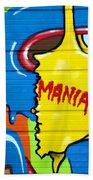 Mania Beach Towel