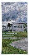 Mansion At Tuckahoe In Jensen Beach Florida Beach Towel