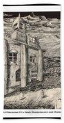 Mansion In Darkness Beach Towel