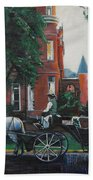 Mansion On Forsythe Savannah Georgia Beach Towel