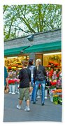 Many Flower Shops In Tallinn-estonia Beach Towel