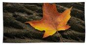 Maple Leaf Beach Towel