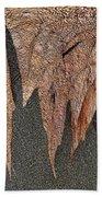 Maple Leaf Unleashed Beach Towel