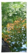 Maple Reflections Beach Towel