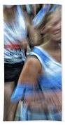 Marathon Abstract 2 Beach Towel