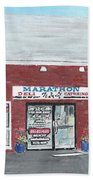 Marathon Deli Beach Towel