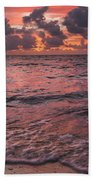 Marathon Key Sunrise Panoramic Beach Towel by Adam Romanowicz