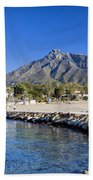 Marbella Holiday Resort In Spain Beach Towel