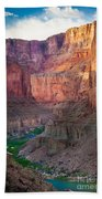 Marble Cliffs Beach Towel by Inge Johnsson