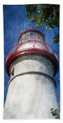 Marblehead Lighthouse 2 Beach Towel