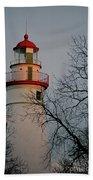 Marblehead Lighthouse On Lake Erie  Beach Towel