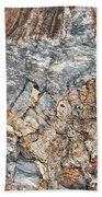 Marbleized Wood Beach Sheet