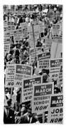 March On Washington Beach Towel