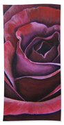 March Rose Beach Towel