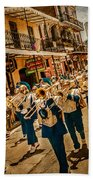 Marching Band Beach Towel