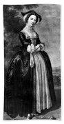 Margaret Woffington (c1714-1760) Beach Towel