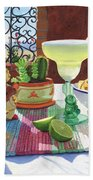Mariachi Margarita Beach Towel