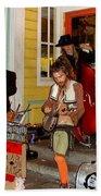 Marigny Musicians Beach Towel