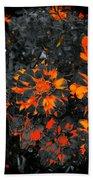 Marigold Fire Beach Towel