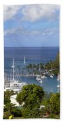 Marigot Bay Beach Towel