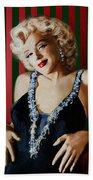 Marilyn 126 D Stripes Beach Towel