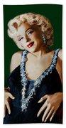 Marilyn 126 Green Beach Towel