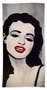 Marilyn Monroe Aka Norma Jean The Beginning Beach Towel