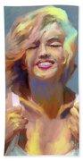 Marilyn Monroe Beach Sheet