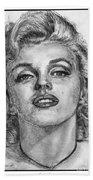 Marilyn Monroe Beach Towel